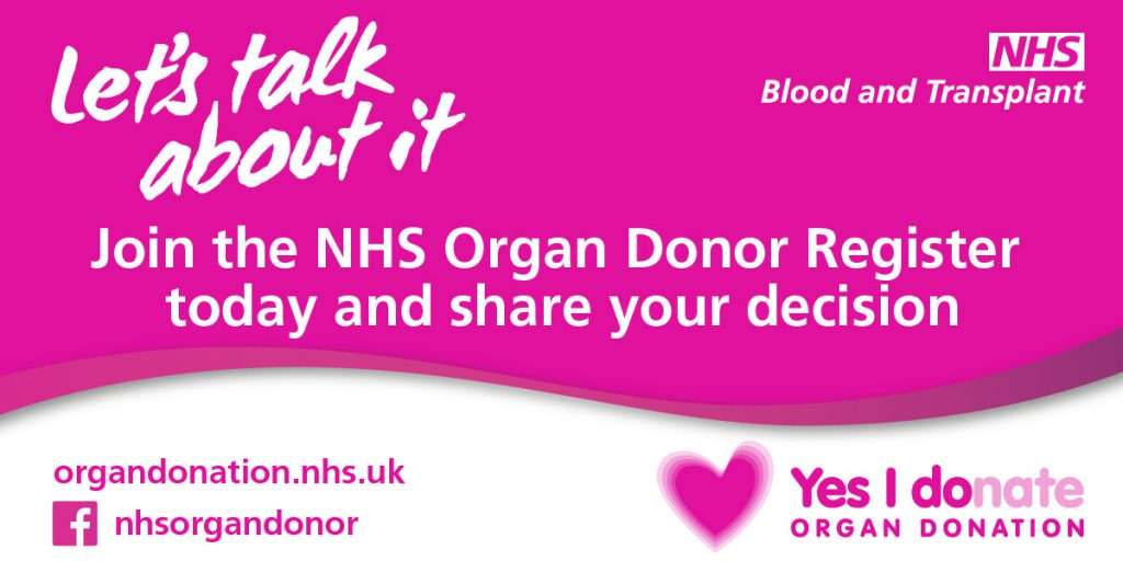 Let's talk about it - Organ Donation